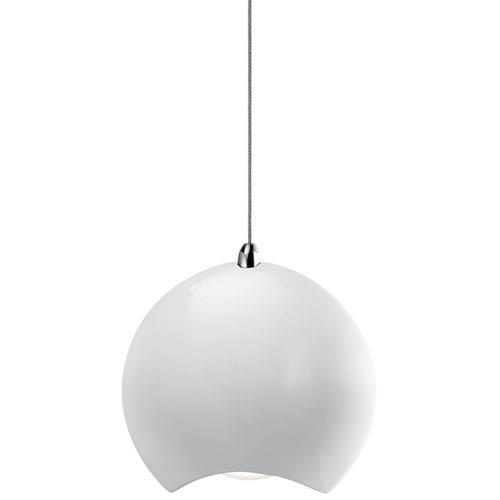 Minn White One-Light LED Mini Pendant