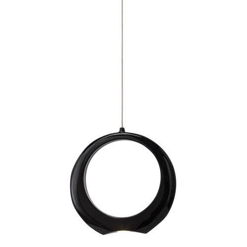 Zuy Black One-Light LED Pendant