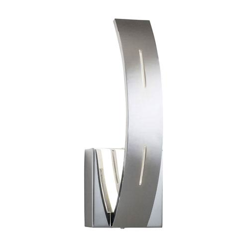Ivis Chrome One-Light LED Wall Sconce
