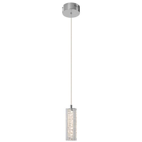 Elan Neruda Chrome One-Light LED Mini Pendant