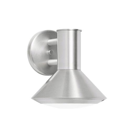 Rovero Brushed Aluminum One-Light  Exterior LED Wall Sconce