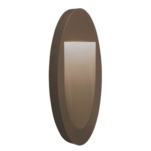 Soku Architectural Bronze One-Light  Exterior LED Wall Sconce