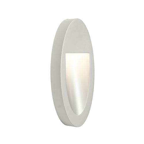 Soku Painted Platinum One-Light  Exterior LED Wall Sconce