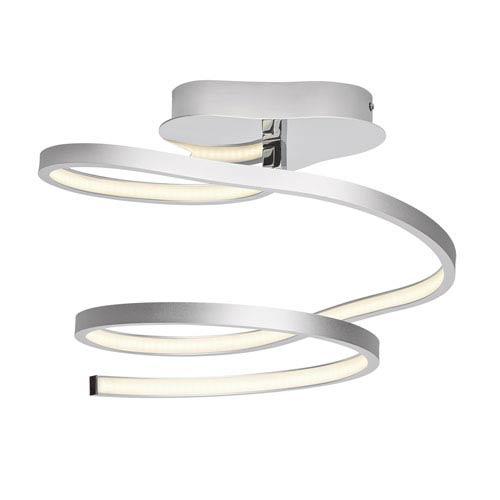 Tintori Chrome One-Light LED Semi-Flush Mount