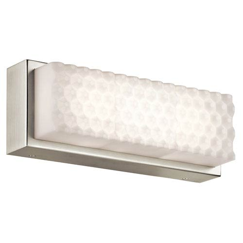 Merco Brushed Nickel 13-Inch One-Light LED Vanity