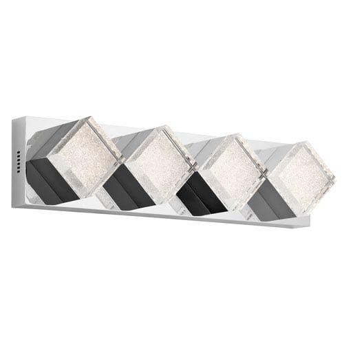 Elan Gorve Chrome LED 29-Inch Vanity