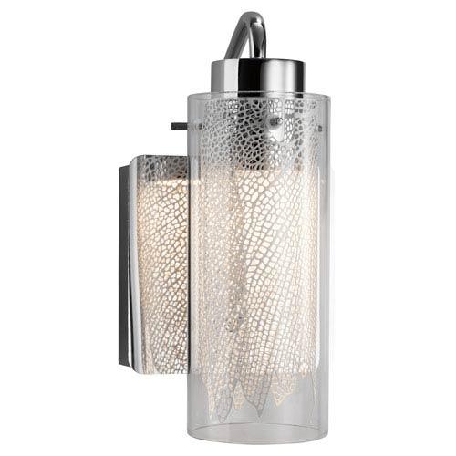 Elan Krysalis  Chrome One-Light LED Vanity