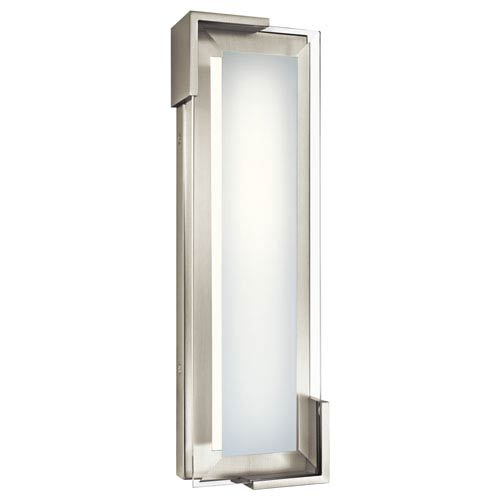 Jaxen Brushed Nickel Vertical LED Vanity