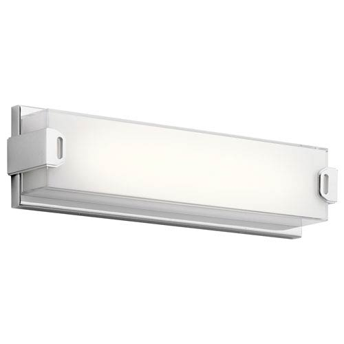 Xeo Chrome LED 18-Inch One-Light Bath Sconce