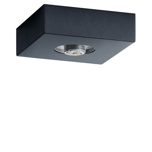 Mates Charcoal LED Flush Mount Hardware Base Only