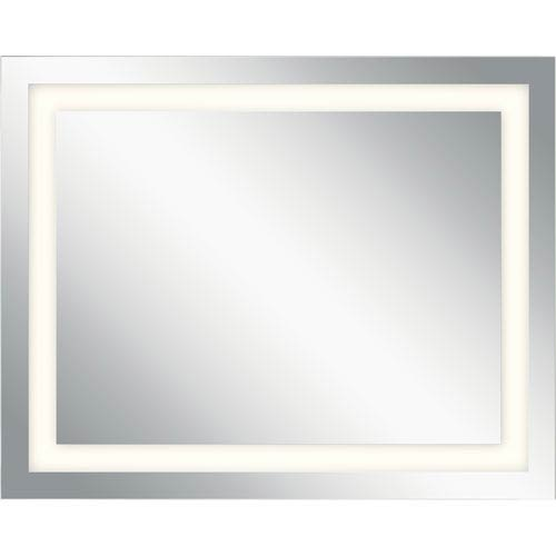 Frosted 24-Inch LED Lighted Rectangular Mirror