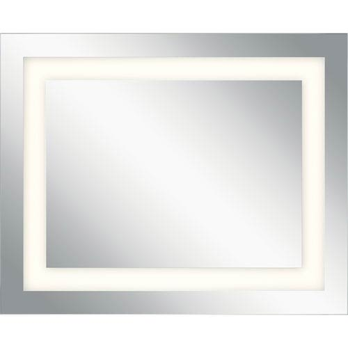 40 inch mirror elan frosted 40inch led lighted rectangular mirror 40 inch 83995 bellacor