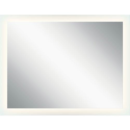 Frosted 54-Inch LED Lighted Rectangular Mirror