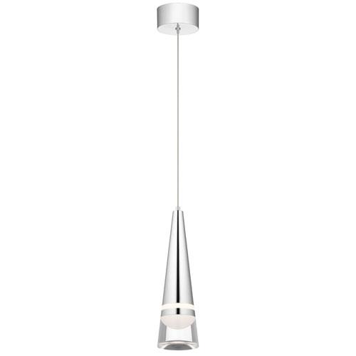 Elan Venzano Chrome 5-Inch LED Mini Pendant