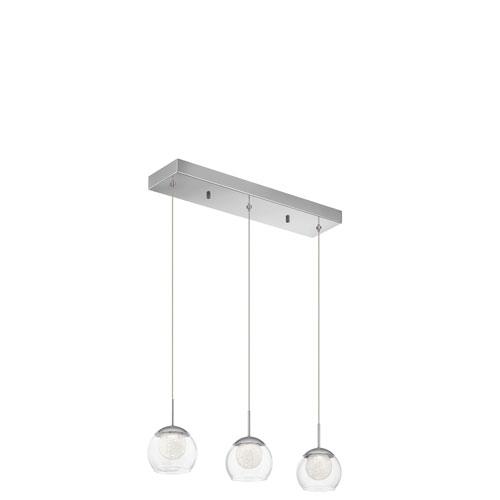 Elan Lexi Chrome 27-Inch LED Linear Pendant