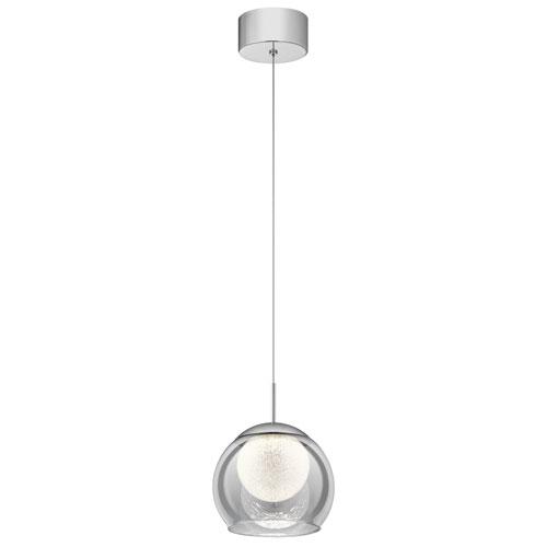 Lexi Chrome 8-Inch LED Mini Pendant
