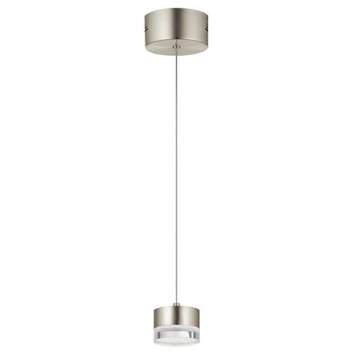 Avenza™ Brushed Nickel 3-Inch LED Mini Pendant