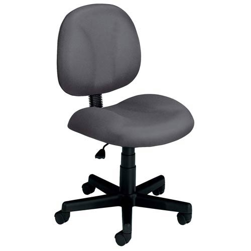 OFM Office Furniture Gray Fabric Computer Superchair