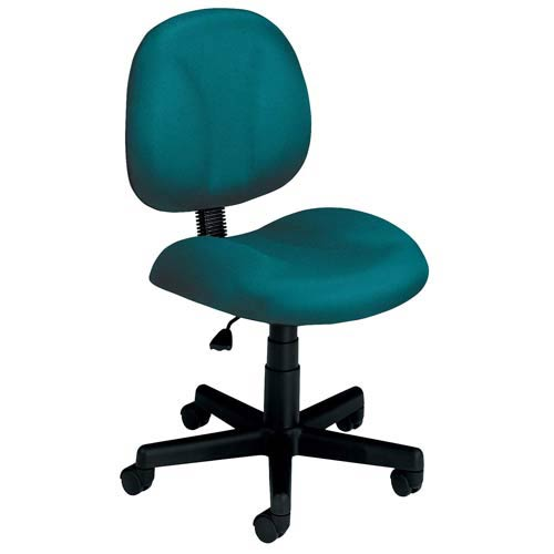 OFM Office Furniture Teal Fabric Computer Superchair