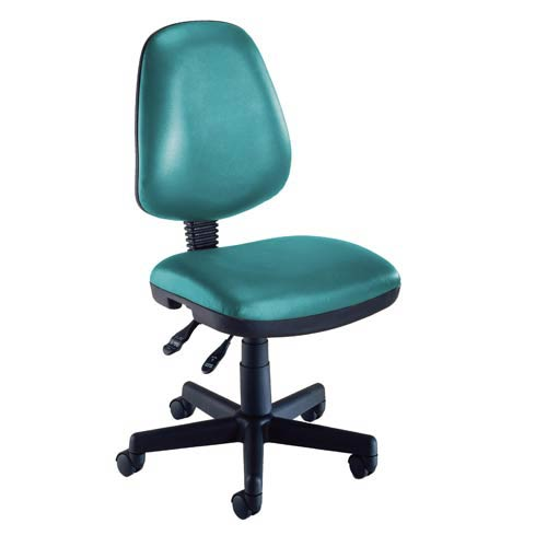 OFM Office Furniture Teal Vinyl Computer Posture Chair