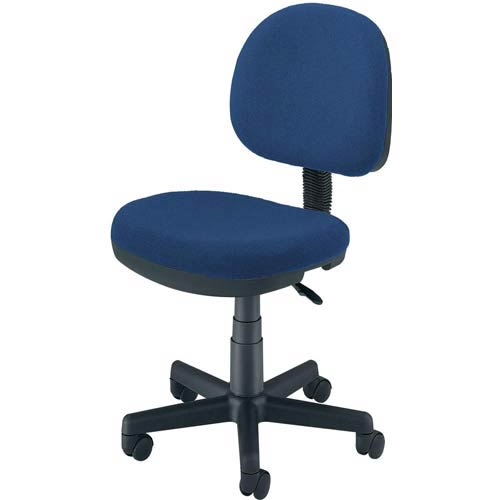 OFM Office Furniture Blue Fabric Lite Use Task Chair