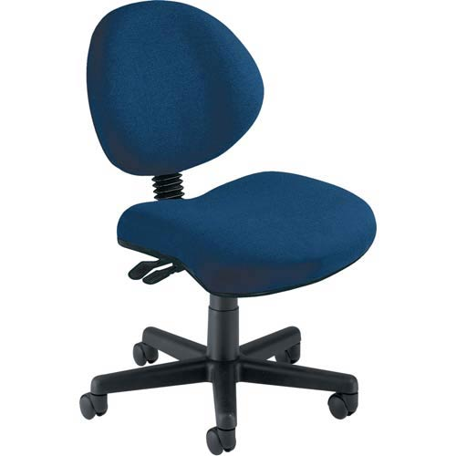 Blue Fabric 24 Hour Task Chair