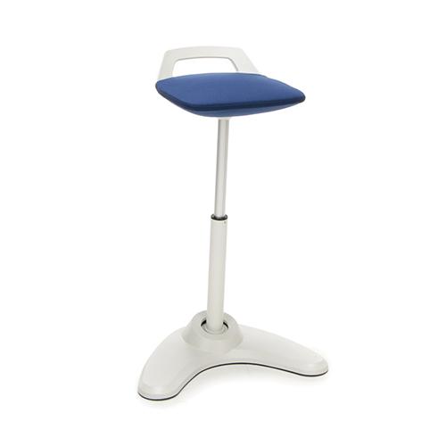 Blue Vivo Height Adjustable Stool