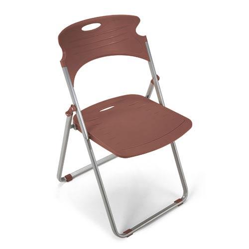 Greenguard Certified Caramel Folding Chair