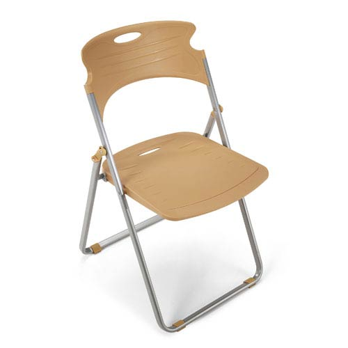 Surprising Greenguard Certified Buttherscotch Folding Chair Creativecarmelina Interior Chair Design Creativecarmelinacom