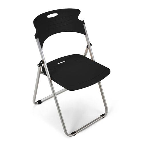 Ofm Office Furniture Greenguard Certified Black Folding Chair