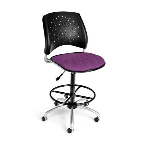 Stars Swivel Plum Task Chair
