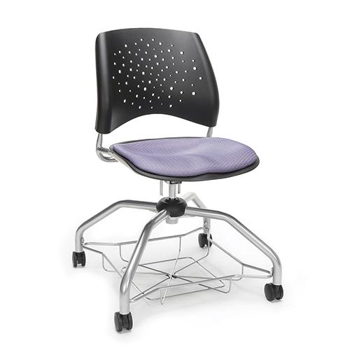 Lavendar Stars Foresee Chair