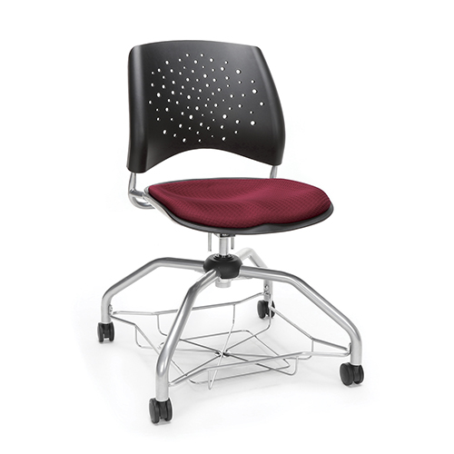 OFM Office Furniture Burgundy Stars Foresee Chair