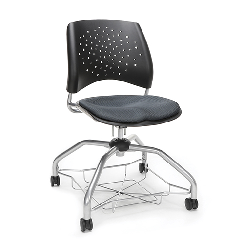 OFM Office Furniture Slate Gray Stars Foresee Chair