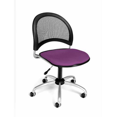 Moon Swivel Plum Task Chair