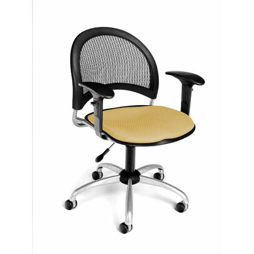 Moon Swivel Golden Flax Task Chair
