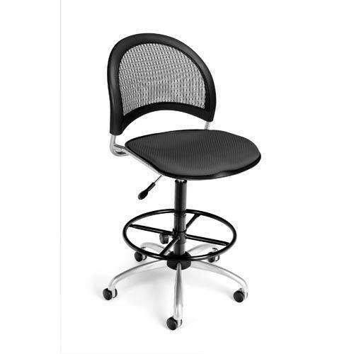 Moon Swivel Slate Gray Task Chair