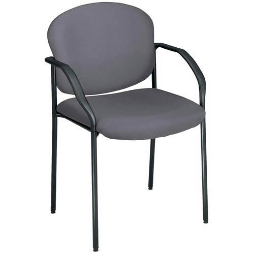 Gray Fabric Reception Chair