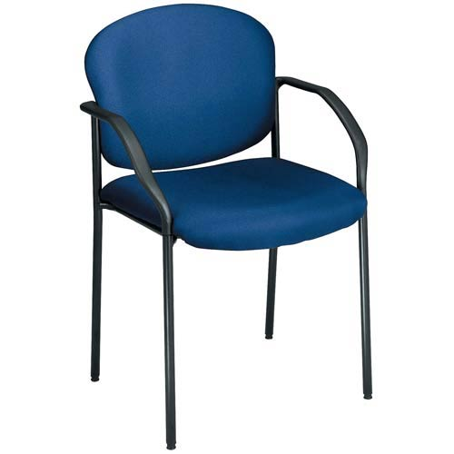 OFM Office Furniture Navy Fabric Reception Chair