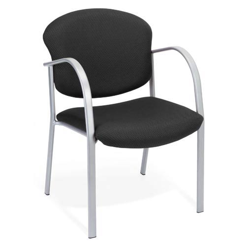 OFM Office Furniture Guest and Reception Ebony Chair