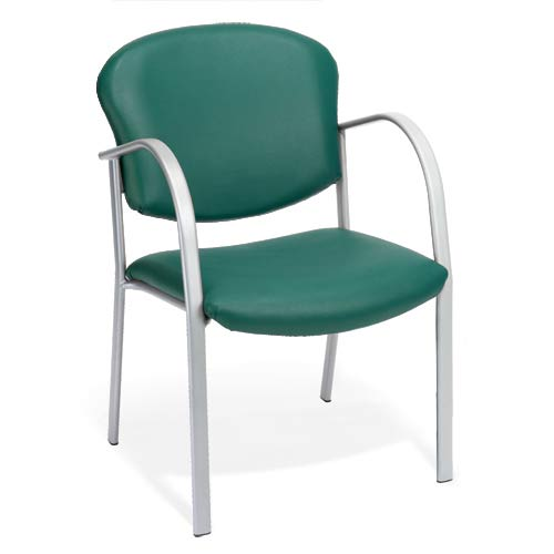 Vinyl Teal Guest and Reception Chair
