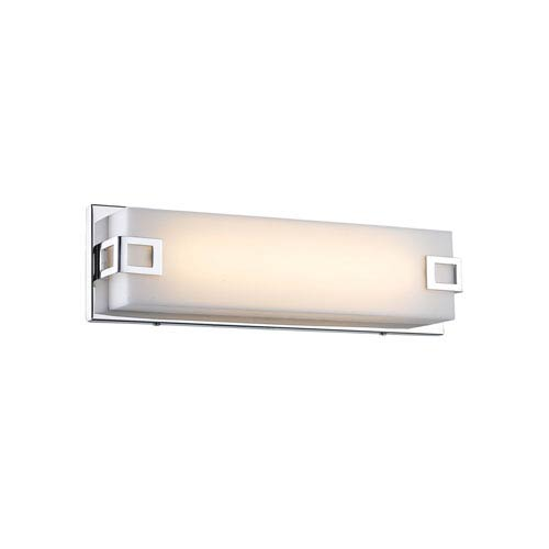 Cermack St. Polished Chrome 16-Inch LED Bath Bar