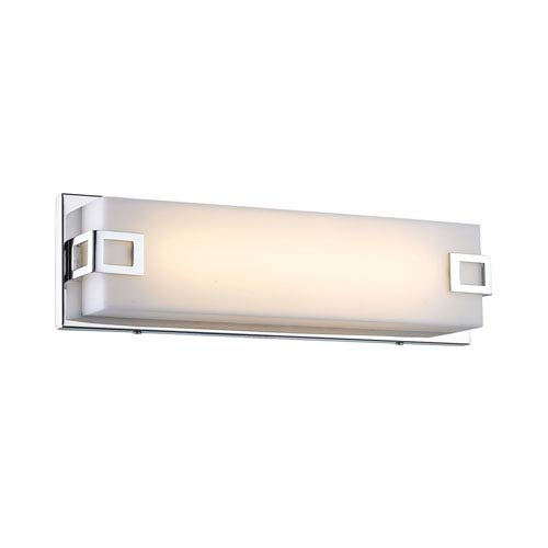 Cermack St. Polished Chrome 26-Inch LED Bath Bar