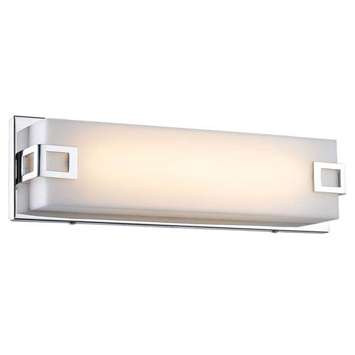 Cermack St. Polished Chrome 38-Inch LED Bath Bar