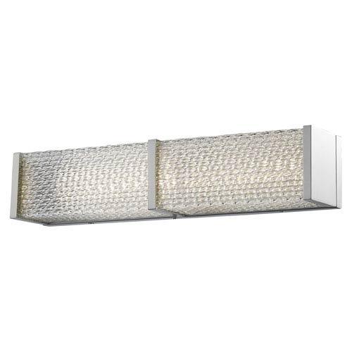 Cermack St. Brushed Nickel 24-Inch LED Bath Bar
