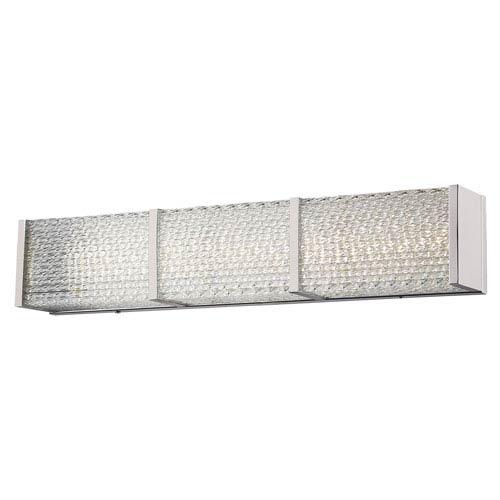 Cermack St. Brushed Nickel 32-Inch LED Bath Bar