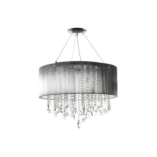 Beverly Dr. Silver 32-Inch Twelve-Light Dual Mount
