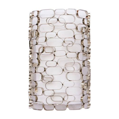 Ventura Blvd. Polished Nickel Two-Light Wall Sconce