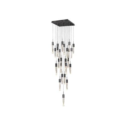 Avenue Lighting Aspen Dark Bronze 28-Inch LED Flush Mount