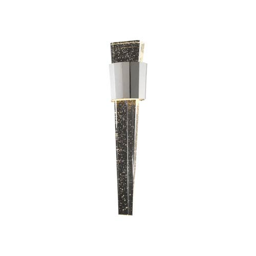 Glacier Avenue Polished Nickel 6-Inch LED Wall Sconce